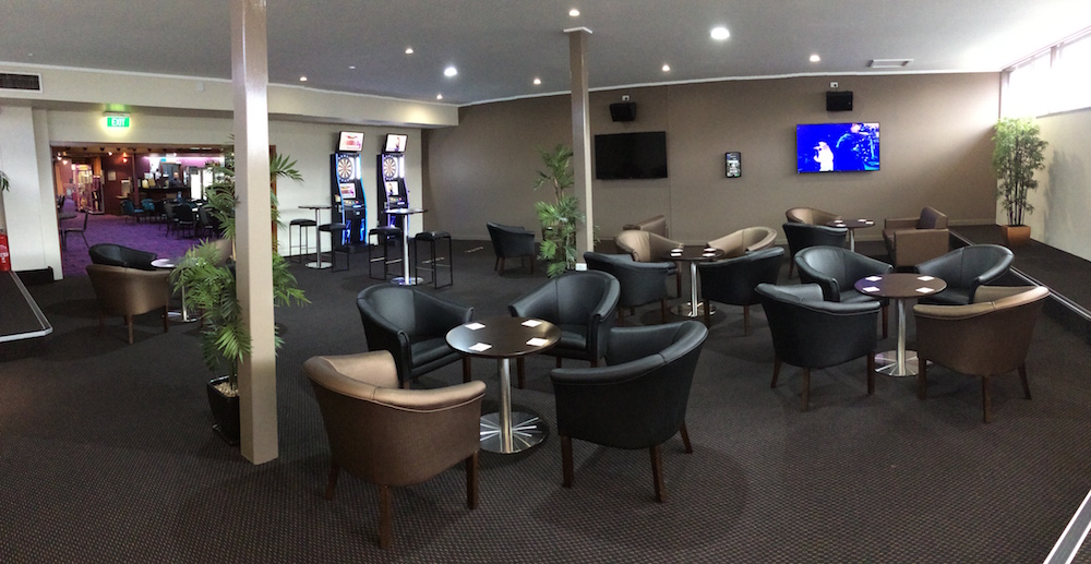 new lounge at the Glen Innes Services Club