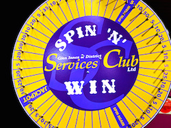 Spin and win at the Glen Innes Services Club
